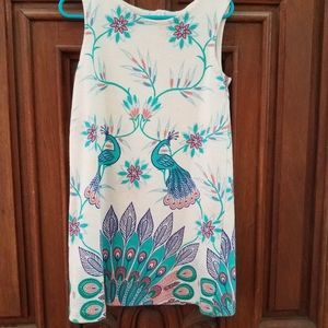 Girls peacock dress